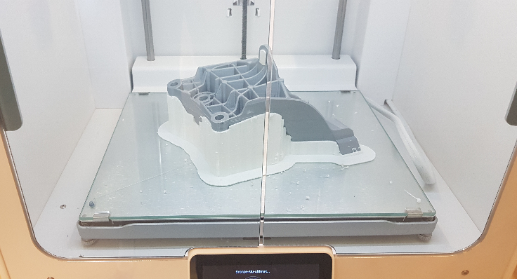 3D printing preen Bronze Alu